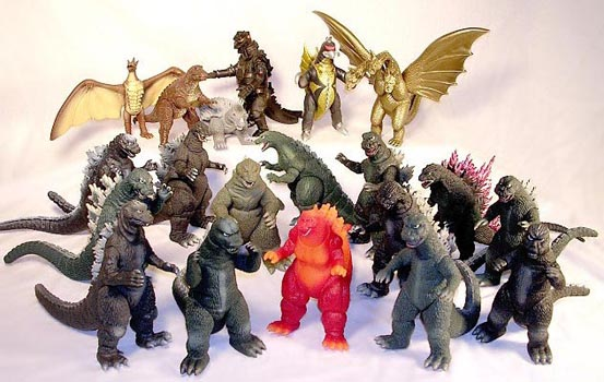 Godzilla Toys And Figures