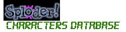Sploder Characters Database
