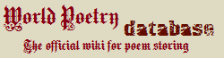 World Poetry Wiki