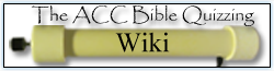 The ACC Bible Quizzing Wiki