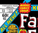 Fantastic Four Annual Vol 1 13
