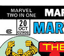 Marvel Two-In-One Vol 1 20