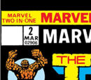 Marvel Two-In-One Vol 1 2