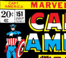 Captain America Vol 1 151