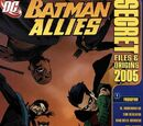 Batman Allies Secret Files and Origins Vol 1 2005