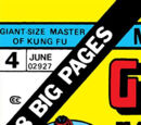 Giant-Size Master of Kung Fu Vol 1 4