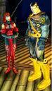 Wanda Maximoff (Earth-7964) and Piotr Rasputin (Earth-7964) from X-Men Legends II Rise of Apocalypse 001.jpg