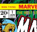 Man-Thing Vol 1 1