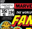 Fantastic Four Vol 1 194