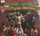 Official Handbook of the Marvel Universe Mystic Arcana: The Book of Marvel Magic Vol 1 1
