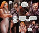 Alison Blaire (Earth-2149) and Ashley J. Williams (Earth-818793) from Marvel Zombies Vs. Army of Darkness Vol 1 2 001.jpg