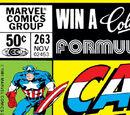 Captain America Vol 1 263