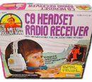 CB Headset Radio Receiver