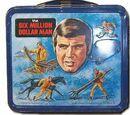The Six Million Dollar Man Aladdin lunchboxes