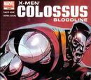 X-Men: Colossus Bloodline Vol 1 1