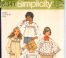 Simplicity 5341