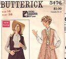 Butterick 5476
