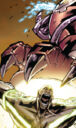 Nezhno Abidemi (Earth-616) and Lucas Bishop (Earth-1191) from Uncanny X-Men Vol 1 493 0002.jpg