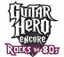 Guitar Hero Encore: Rock the 80's