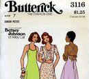 Butterick 3116 A
