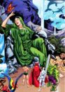 Gaea (Earth-616) and Defenders (Earth-616) from Defenders Vol 2 12 0001.jpg