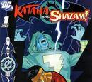 Outsiders: Five of a Kind - Katana/Shazam Vol 1 1