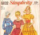 Simplicity 6832 A