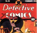 Detective Comics Vol 1 36