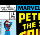 Peter Parker, The Spectacular Spider-Man Vol 1 14