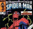 Peter Parker, The Spectacular Spider-Man Vol 1 106