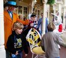 Disneyland Musical Chairs