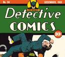 Detective Comics Vol 1 34