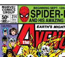 Avengers Vol 1 214