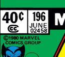 Avengers Vol 1 196