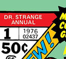 Doctor Strange Annual Vol 1 1