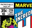 Incredible Hulk Vol 1 219
