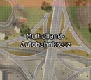 Mulholland-Autobahnkreuz