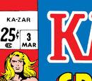 Ka-Zar Vol 1 3