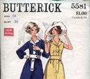 Butterick 5581 A