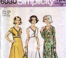 Simplicity 6030 A