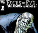 Faces of Evil: Solomon Grundy Vol 1 1