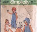 Simplicity 6418