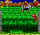 Knuckles the Echidna in Sonic the Hedgehog 2 screenshots