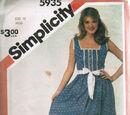 Simplicity 5935 A