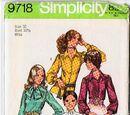 Simplicity 9718