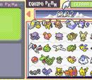 Sistema de almacenamiento de Pokémon