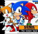 Sonic the Hedgehog The Screen Saver