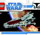 20007 Mini Republic Attack Cruiser