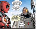 Wade Wilson (Earth-616) and Nathan Summers (Earth-58161) from Cable & Deadpool Vol 1 16 0001.jpg