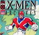 X-Men Archives Featuring Captain Britain Vol 1